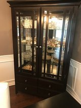 China Cabinet with Light (contents not included) in St. Charles, Illinois