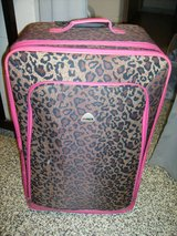 """Hi Pack Cheetah and Pink 30"""" Luggage in Fort Campbell, Kentucky"""