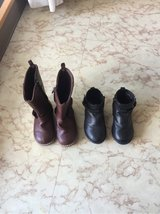 Toddler girls boots Lot size 7 in Okinawa, Japan
