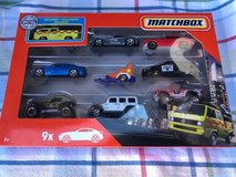 Matchbox set of 9 toy cars : Jeep Wrangler in Aurora, Illinois