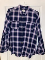 Women's size Large Sonoma flannel like shirt in Naperville, Illinois