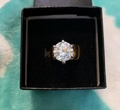 Cubic Zirconia Solitaire in Beaufort, South Carolina