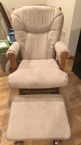 Rocking chair and ottoman in Bolingbrook, Illinois