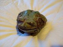 Frog Carving made from Jade in Ramstein, Germany