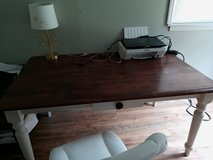 Farmhouse style table solid wood in Clarksville, Tennessee