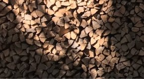 Split firewood, delivered in Alexandria, Louisiana