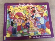 Birthday Party Puzzle in Naperville, Illinois