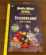 Angry Bird Space Stickers in Bolingbrook, Illinois