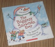 The Biggest Snowman Ever Soft Cover Book in Chicago, Illinois