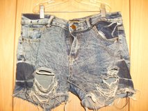 Kroix Ripped Jean Shorts (T=22) in Fort Campbell, Kentucky