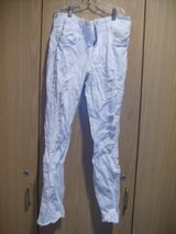 Refuge Distressed White Jeans (T=22) in Fort Campbell, Kentucky