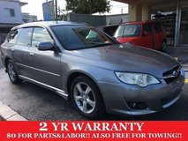 2 YEAR WARRANTY AND NEW JCI!! 2007 SUBARU LEGACY TOURING WGN!! FREE LOANER CARS AVAILABLE NOW!! in Okinawa, Japan
