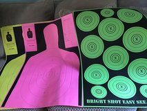 Paper targets B27 & Bright Shot Target in Fort Campbell, Kentucky