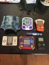 6 vintage hand held video games in Plainfield, Illinois