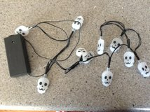 Skull Lights in Joliet, Illinois
