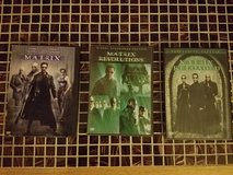 Matrix Trilogy DVDs in Chicago, Illinois