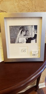 New Silver Toned Monogram Frame in St. Charles, Illinois