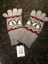 New Vera Bradley Jacquard Tech Gloves - Playful Penguins Red in St. Charles, Illinois