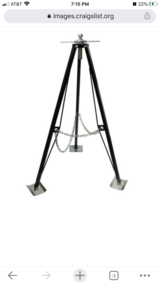 UltraFab Steel Gooseneck Tripod in Fairfield, California