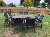 Patio Table w/ 8 Chairs in Naperville, Illinois