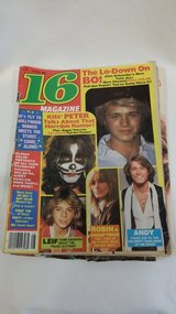"MAGAZINES:  ""16"" - TEEN BEAT - SUPER TEEN (1980-1981) in Westmont, Illinois"