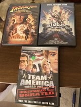 3 DVDs in Plainfield, Illinois