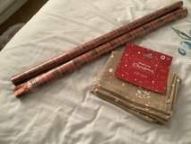 Christmas sack ( new) 2rolls wrapping paper in Lakenheath, UK
