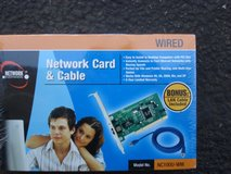 NEW NETWORK CARD & CABLE MODEL MC 100U-VM in St. Charles, Illinois