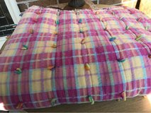 Pink Plaid Baby Quilt in Plainfield, Illinois