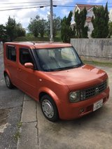 4DR/SW nissan cube in Okinawa, Japan