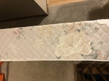 FREE twin bed box spring and metal frame in Bartlett, Illinois