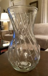 Clear Glass Vase in Bolingbrook, Illinois