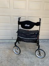 ROLLATOR DRIVE MEDICAL GV974HD-BK ROLLATOR Extra Wide in Kingwood, Texas