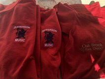 3 Red Girls Polo Shirts Medium in St. Charles, Illinois