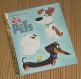 The Secret Life of Pets Little Golden Book Hard Cover in Morris, Illinois