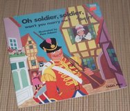 RARE Vintage 1990 Soldier Soldier Won't you Marry Me Soft Cover Book w Die-Cut Pages in Morris, Illinois