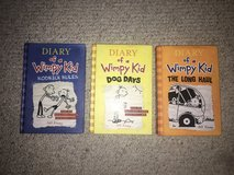 3 Diary of a Wimpy Kid Hardcovers - Books 2, 4 and 9 in Naperville, Illinois