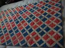 HAND QUILTED QUILT 80 X 138 QUEEN SIZE QUILT in Bartlett, Illinois