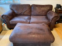 Couch with Ottoman in Ramstein, Germany
