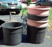 Sears Shop Vac Tubs (planters, fountains, bins) in Chicago, Illinois
