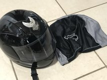 Harley Davidson Full Face Helmet with Bag EUC Size M in Travis AFB, California