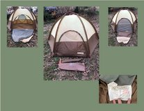 Camel brand 2 person dome tent - used in Fort Leonard Wood, Missouri