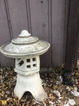 Vintage Pagoda Lawn Statue in St. Charles, Illinois