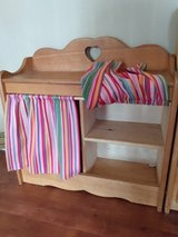 Wooden Doll Dresser/Changing Table in Fort Knox, Kentucky