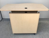 Mobile Instructors Desk, Store Front Counter, Craft Table, Desk - New! in Joliet, Illinois