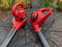 2 Electric Leaf Blowers in Plainfield, Illinois