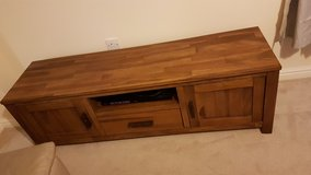 solid wooden tv stand in Lakenheath, UK