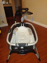Vibrating baby bassinet in Nellis AFB, Nevada