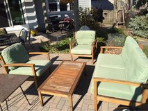 Four Piece Wood Patio Set in St. Charles, Illinois