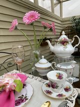 High Tea on our Private outdoor Patio! in Camp Pendleton, California